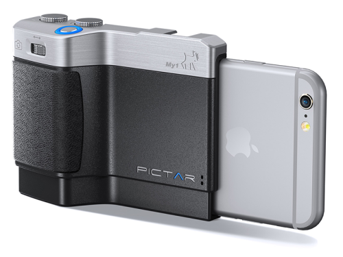 Pictar camera grip uses sound waves to 'DSLR your iPhone'