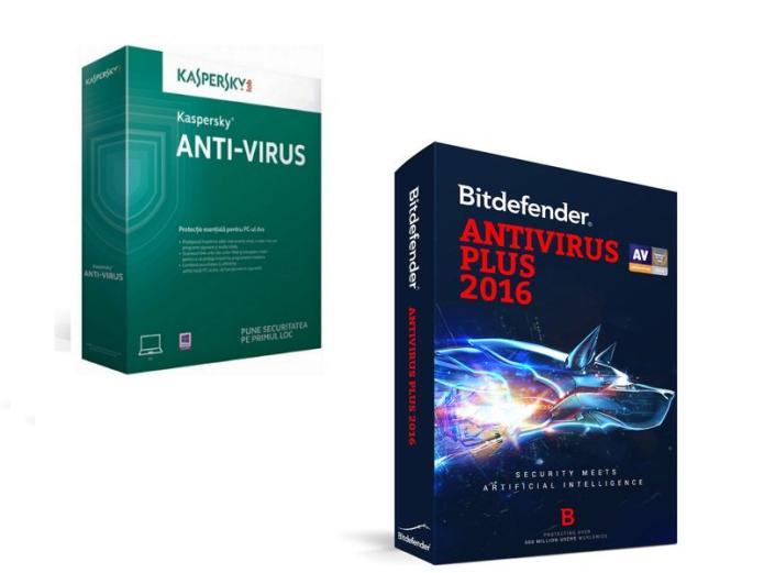 Bitdefender Antivirus Plus vs. Kaspersky Anti-Virus : Face-Off
