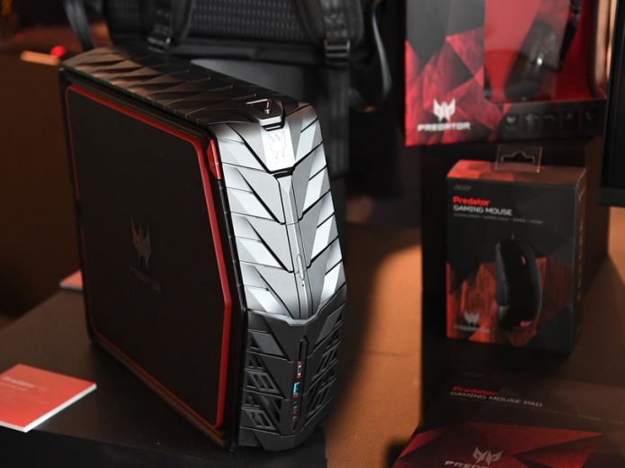 Acer Predator G1 Hands-on : Desktop is Ready for the Road