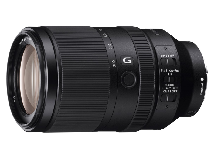 Sony FE 70-300mm f/4.5-5.6 G OSS Lens Additional Coverage