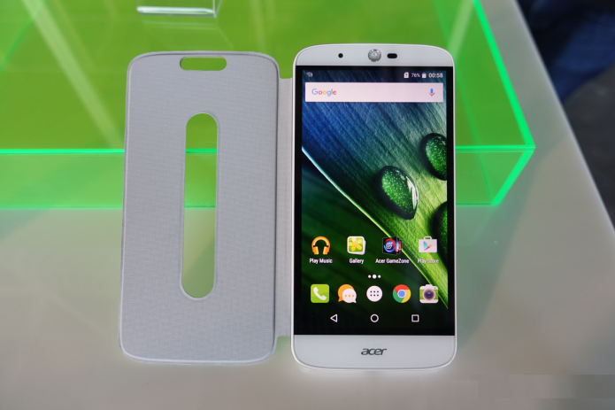 Acer's Liquid Zest Hands-on : Phone Has a Massive 5,000 mAh Battery