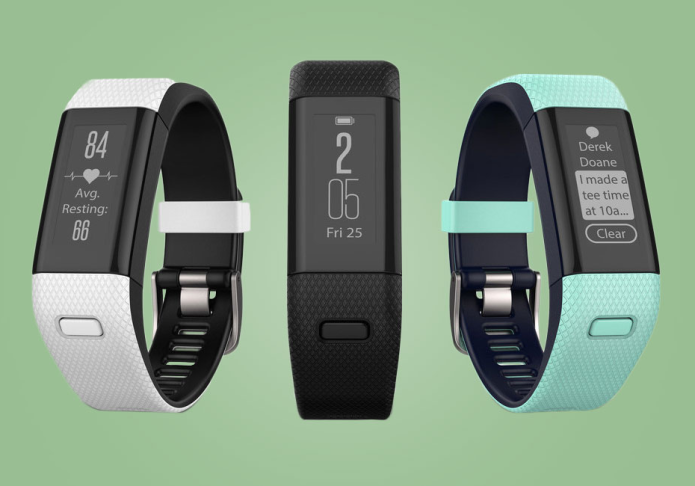 Garmin Approach X40 golf band adds heart rate sensor for those pressure putts