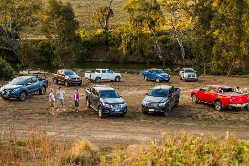 Ute comparison : Ford Ranger v Holden Colorado v Isuzu D-Max v Mazda BT-50 v Mitsubishi Triton v Nissan Navara v Toyota HiLux v Volkswagen Amarok