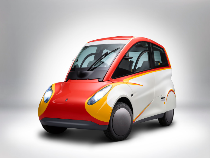 Shell's Concept Car Combines Goofy Looks With 107 MPG