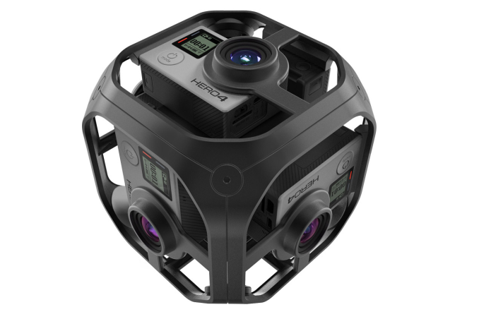 GoPro Omni Brings VR Capture To Your Action Cam Toolbox