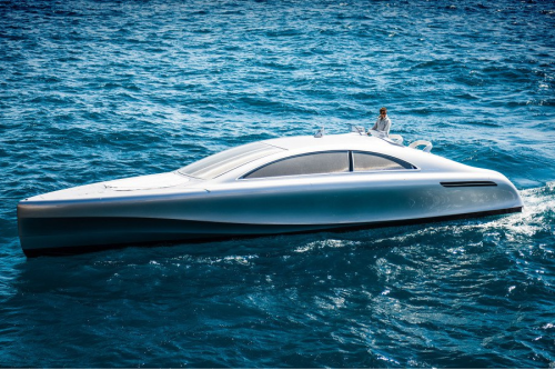 Mercedes-Benz Arrow460-Granturismo Is The Automaker's Version Of A Luxury Yacht