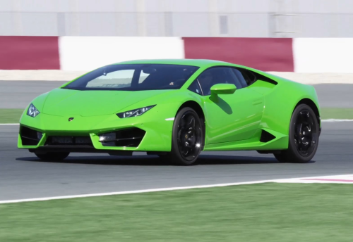 2016 Lamborghini Huracan LP580-2 Review : Track Test