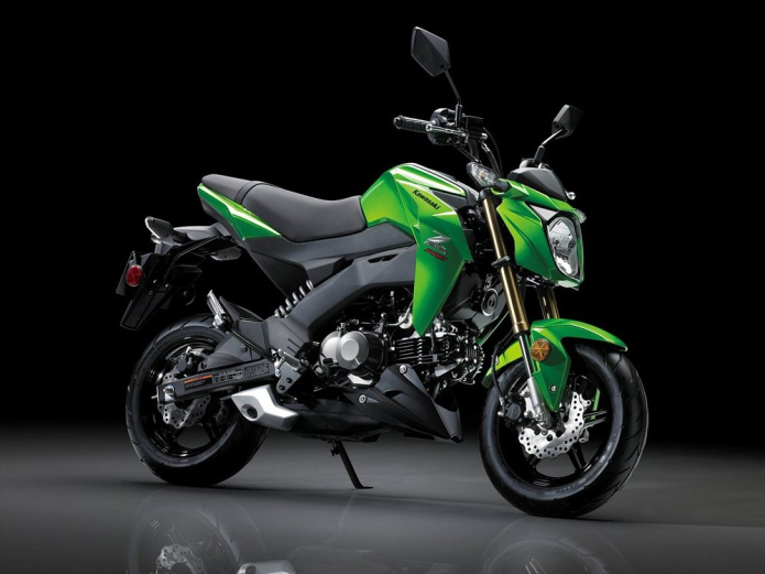 First Ride Review : 2017 Kawasaki Z125 Pro