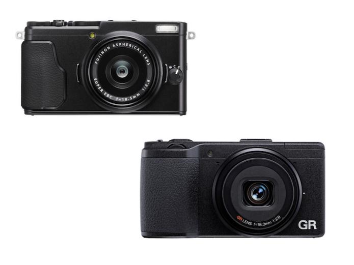 Fujifilm X70 vs Ricoh GR II Specifications Comparison Review