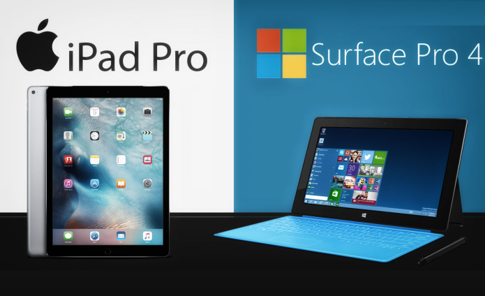 Surface Pro 4 vs. iPad Pro : Which Tablet Wins?