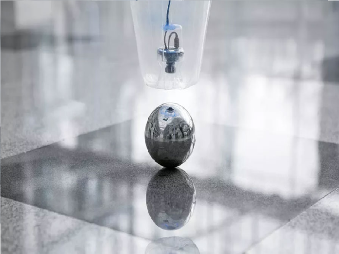 FreeMotionHandling concept is a flying helium-filled gripping device