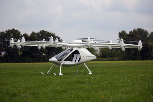 e-volo Volocopter VC200 done its first manned flight