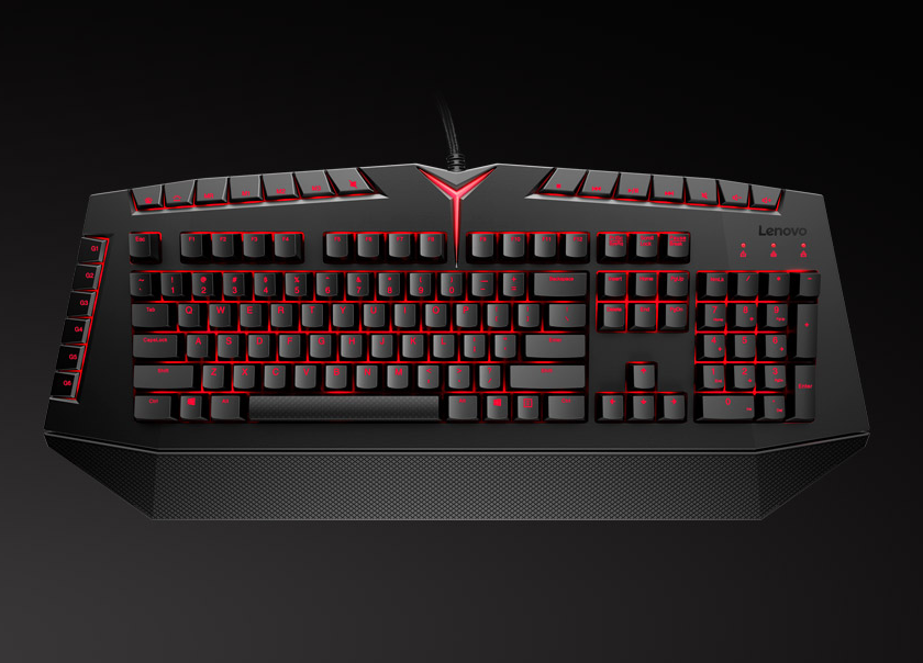 Lenovo Y Mechanical Gaming Keyboard Review Big And Not