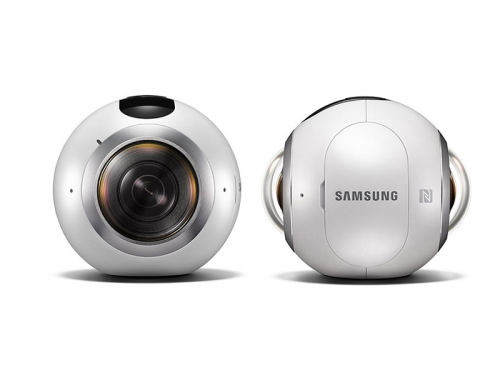 Samsung's Gear 360 VR Camera Designed To Work With Galaxy S7, S7 Edge
