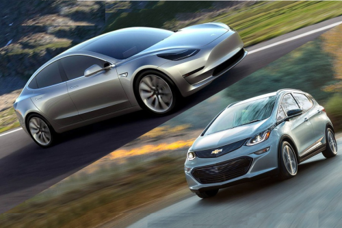 Tesla Model 3 vs. Chevy Bolt EV : 5 Key Differences