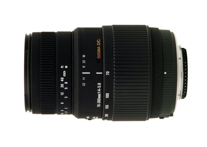 Sigma 70-300mm f/4-5.6 DG OS HSM lens patented in Japan