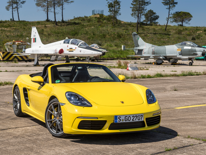 Porsche 718 Boxster first drive review : 20 years on, it's still boxing clever