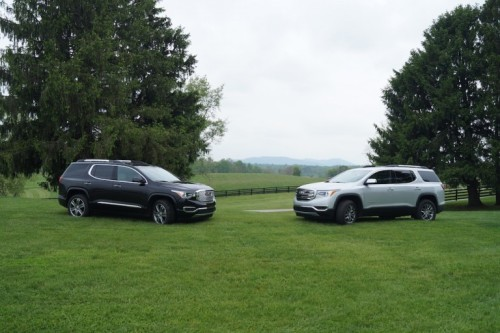 First Drive: Piloting GMC's Lighter, Smaller 2017 Acadia