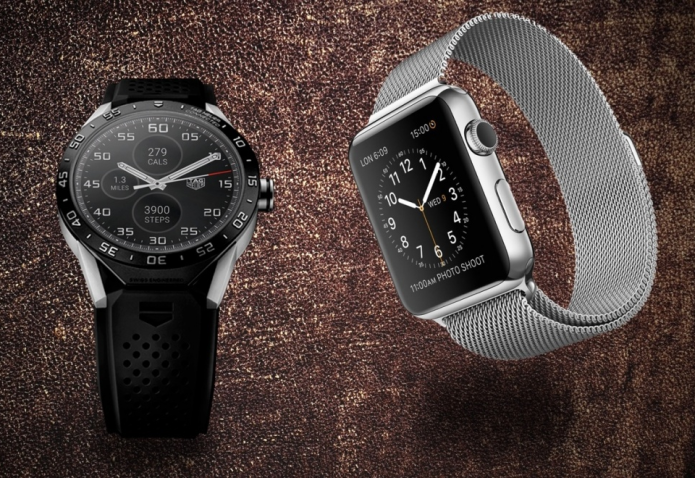 Apple Watch v Tag Heuer Connected : Battle of the luxury smartwatches