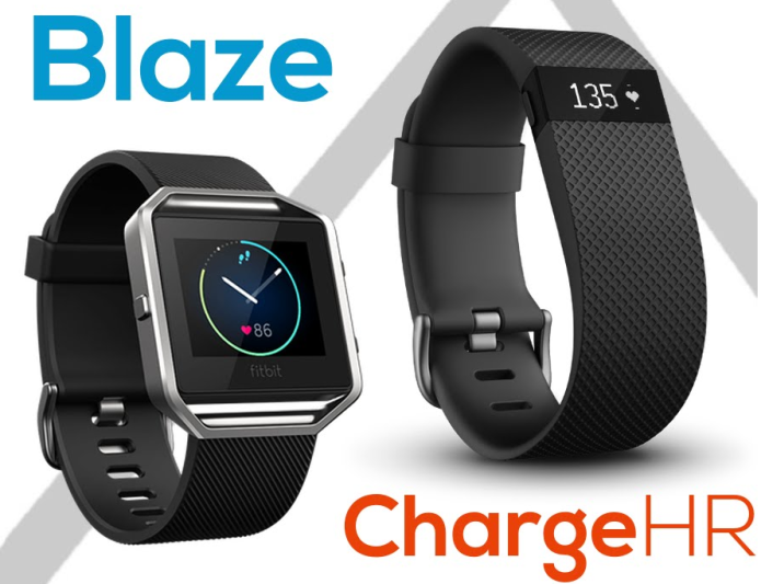 Fitbit Blaze v Fitbit Charge HR : Fitness tracker showdown