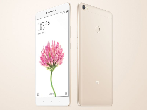 Xiaomi Mi Max launch : 6.44″ screen, 4GB RAM, and 4850mAh battery