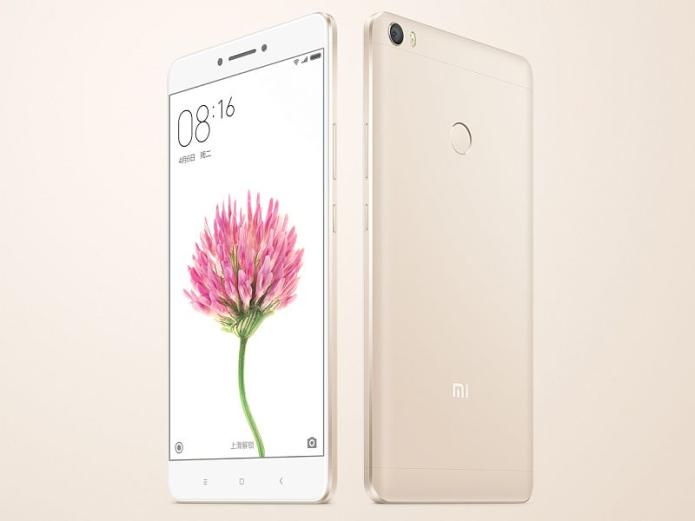 Xiaomi Mi Max launch : 6.44″ screen, 4GB RAM, and 4850mAh battery