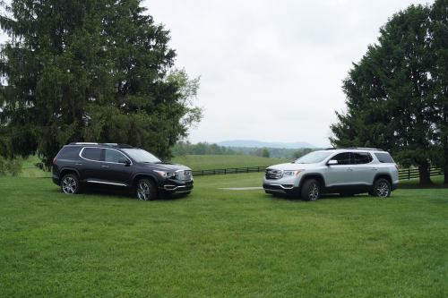 First Drive Review : Piloting GMC's Lighter, Smaller 2017 Acadia