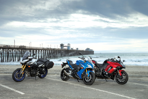 Kawasaki Ninja 1000 ABS vs. Suzuki GSX-S1000F vs. Yamaha FJ-09 Comparison Test