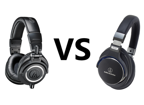 Audio Technica ATH-M50X vs ATH-MSR7 Comparison Review
