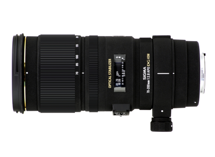 Sigma 70-200mm f/2.8 DG OS HSM lens patented in Japan