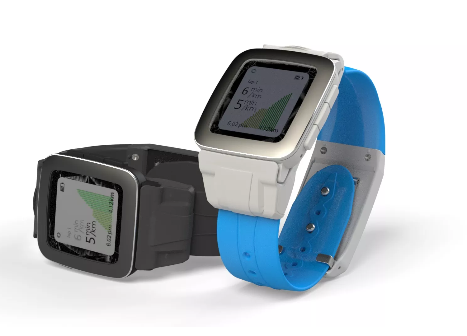 Pebble watches get gps more battery life with new strap gearopen for Pebble watches