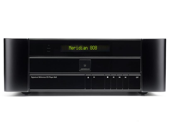 Meridian 808V6 Signature Reference CD player review