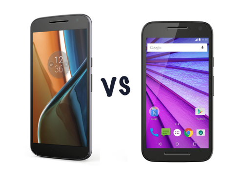 Moto G4 (2016) vs Moto G3 (2015) : What's the difference?