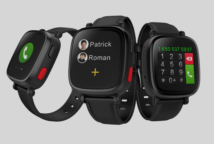 Omate's Wherecom S3 smartwatch wants to keep senior citizens safe