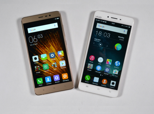 Vivo V3 Max vs Xiaomi Redmi Note 3 Pro : 4GB RAM, 4000mAh battery