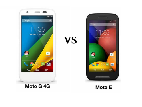 Moto G 4 vs Moto E 2 : What's the Difference?