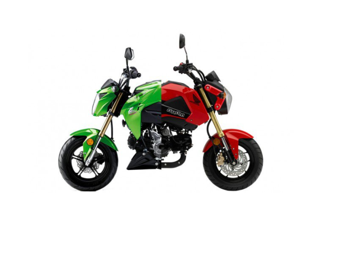 Kawasaki Z125 Pro Vs. Honda Grom – On The Dyno!