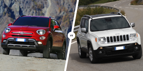 Fiat 500X vs. Jeep Renegade Review : Buy This, Not That