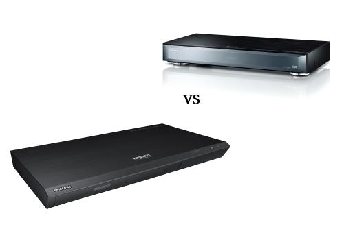 Panasonic DMP-UB900 vs Samsung UBD-K8500 review