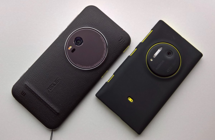 Asus Zenfone Zoom VS Nokia 1020 : 3x optical zoom with 41MP camera