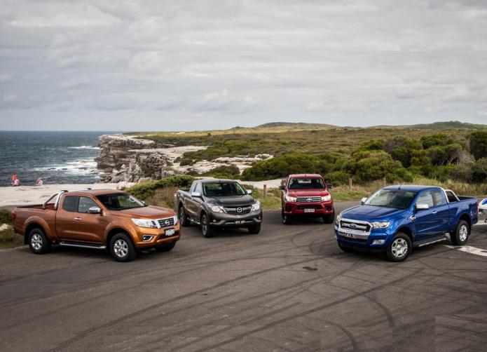 Extra-cab ute comparison : Ford Ranger v Mazda BT-50 v Nissan Navara v Toyota HiLux