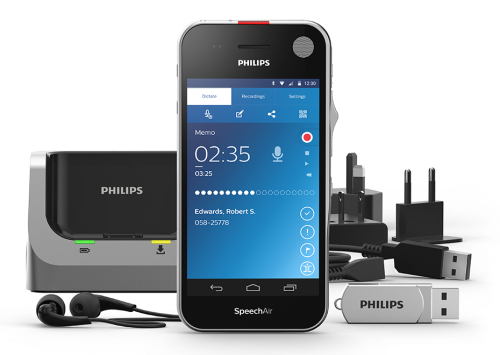 Philips SpeechAir Modernizes The Voice Recorder With Built-In Apps And More