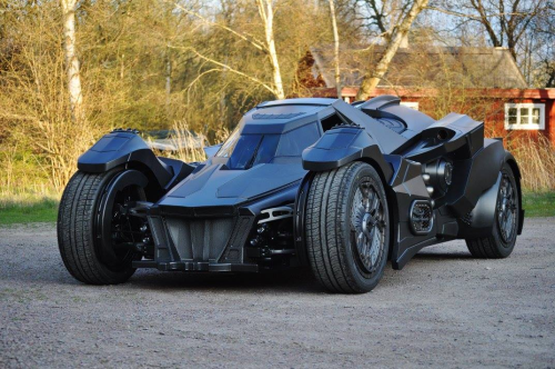 Caresto Arkham Car Just Might Be The Most Powerful Custom Batmobile Ever Built