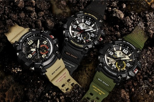 Mud And Sludge Are No Match For G-Shock's Over-Engineered GG-1000 Mudmaster