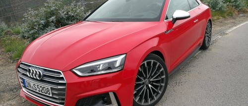 2018 Audi A5 and S5 First Drive