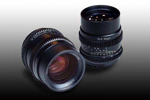 SLR Magic Announces CINE 35mm F1.2 and CINE 75mm F1.4 Lenses