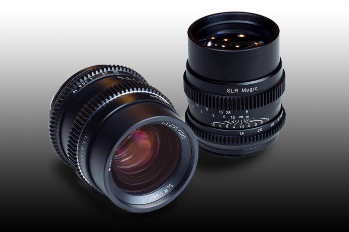 SLR Magic Announces CINE 35mm F1.2 and CINE 75mm F1.4 Lenses