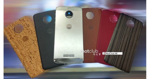 Moto Z Style Mods leaked as swappable back covers