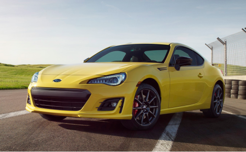 2017 Subaru Finds its Inner Bumblebee With the BRZ Series.Yellow