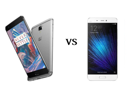 OnePlus 3 vs Xiaomi Mi 5 : Which is best?
